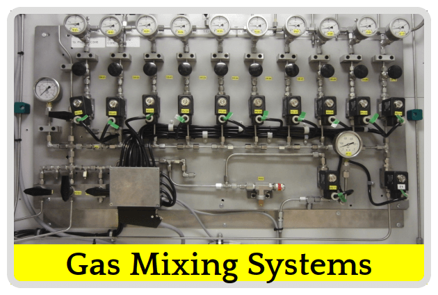 Gas Mixing Systems